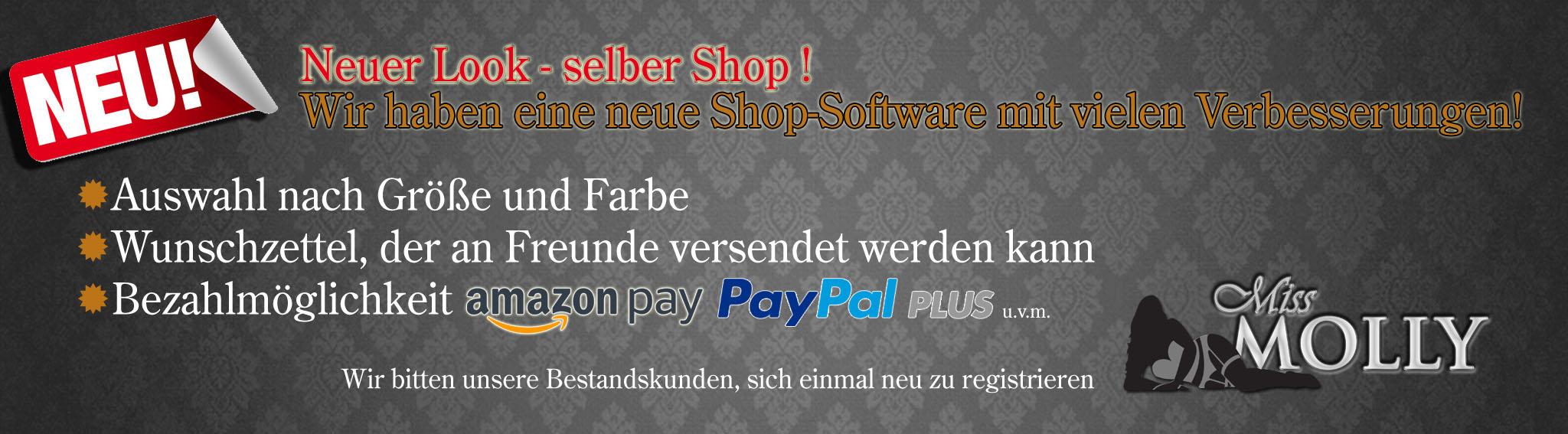 Neuer Look - selber Shop